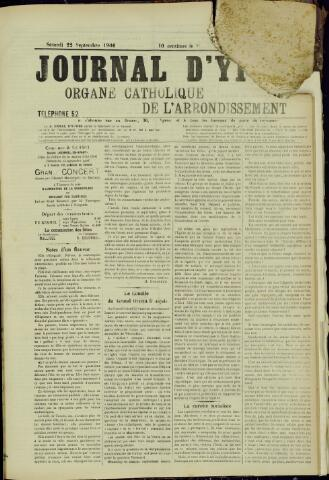 Journal d'Ypres (1874 - 1913) 1906-09-22
