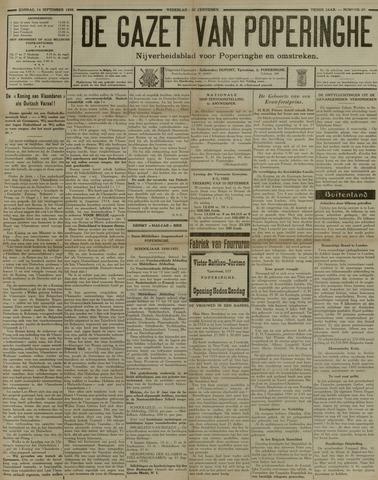 De Gazet van Poperinghe  (1921-1940) 1930-09-14