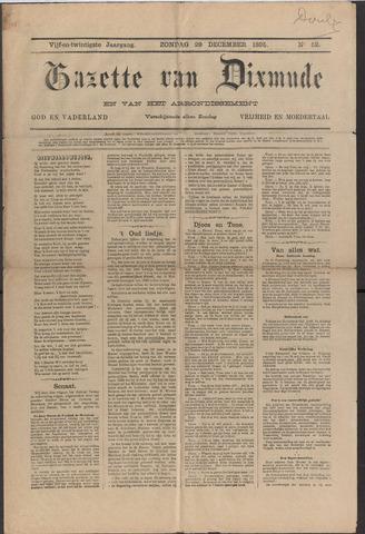 Gazette van Dixmude 1895
