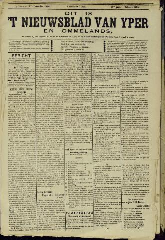 Nieuwsblad van Yperen en van het Arrondissement (1872 - 1912) 1899-12-09