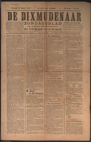 De Dixmudenaar 1907