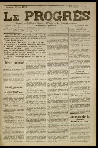 Le Progrès (1841-1914) 1905-06-18