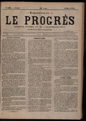 Le Progrès (1841-1914) 1879-03-06