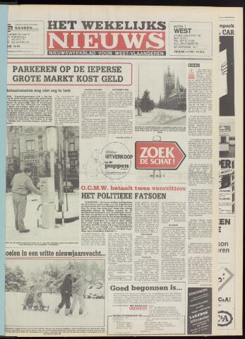 Het Wekelijks Nieuws (1946-1990) 1986