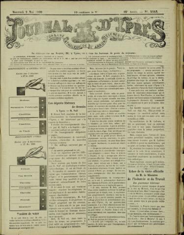 Journal d'Ypres (1874 - 1913) 1900-05-02