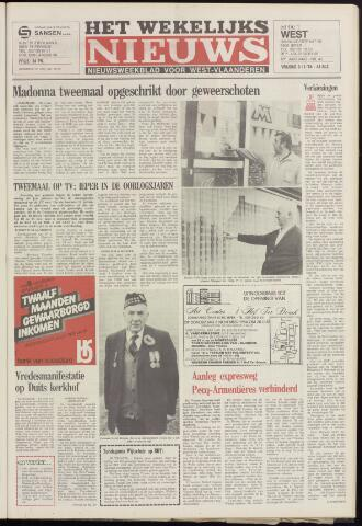 Het Wekelijks Nieuws (1946-1990) 1984-11-09