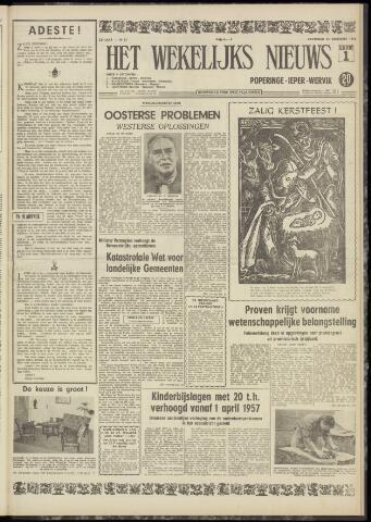 Het Wekelijks Nieuws (1946-1990) 1956-12-22