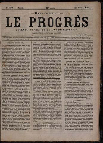 Le Progrès (1841-1914) 1879-08-21
