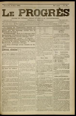 Le Progrès (1841-1914) 1905-06-11