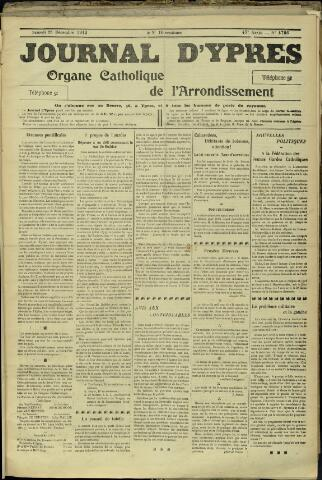 Journal d'Ypres (1874 - 1913) 1912-12-28