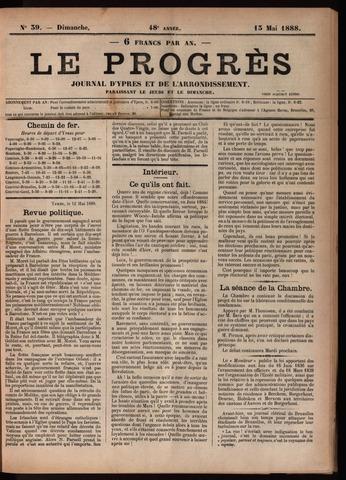 Le Progrès (1841-1914) 1888-05-13