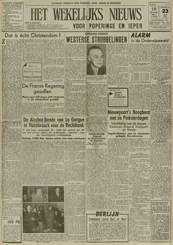 Het Wekelijks Nieuws (1946-1990) 1953-05-23