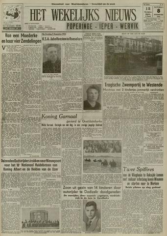 Het Wekelijks Nieuws (1946-1990) 1953-08-08