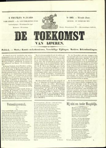 De Toekomst (1862 - 1894) 1871-02-19