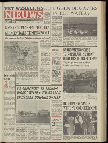 Het Wekelijks Nieuws (1946-1990) 1974-09-27