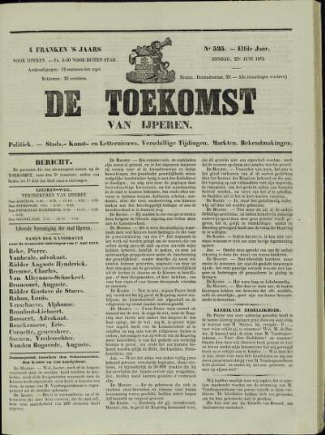 De Toekomst (1862 - 1894) 1872-06-23