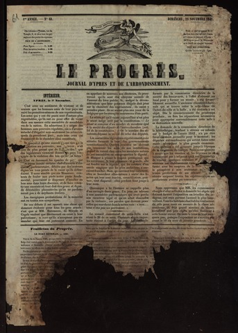 Le Progrès (1841-1914) 1841-11-28