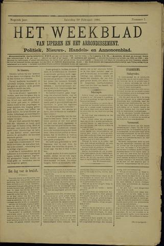 Het weekblad van Ijperen (1886 - 1906) 1894-02-10