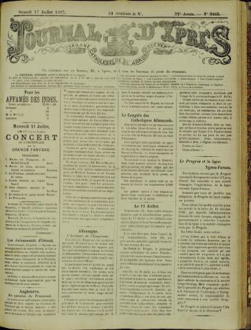 Journal d'Ypres (1874 - 1913) 1897-07-17