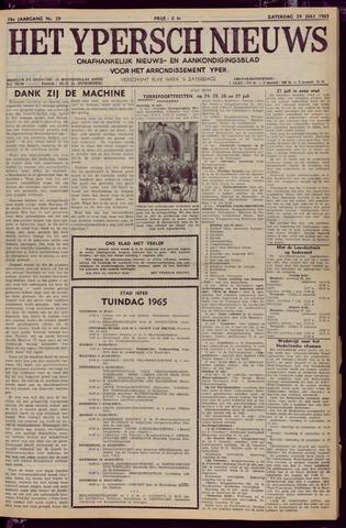 Het Ypersch nieuws (1929-1971) 1965-07-24