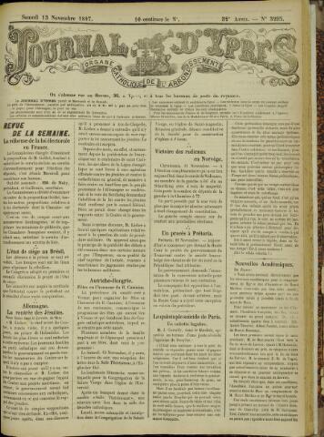 Journal d'Ypres (1874 - 1913) 1897-11-13