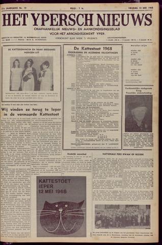 Het Ypersch nieuws (1929-1971) 1968-05-10