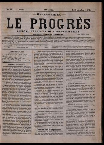 Le Progrès (1841-1914) 1880-09-02