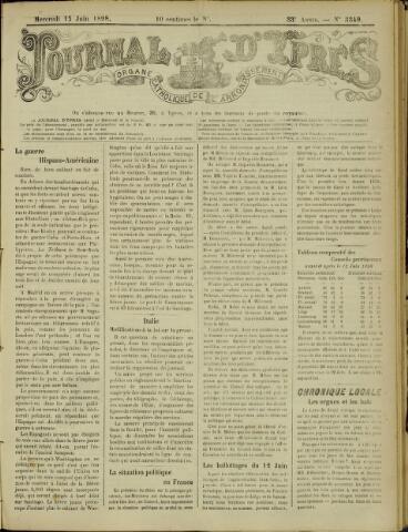 Journal d'Ypres (1874 - 1913) 1898-06-15