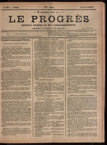 Le Progrès (1841-1914) 1897-04-01