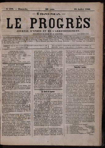 Le Progrès (1841-1914) 1880-07-18