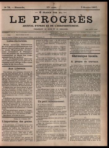 Le Progrès (1841-1914) 1897-10-03