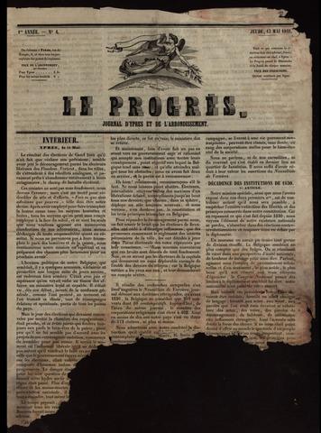 Le Progrès (1841-1914) 1841-05-13