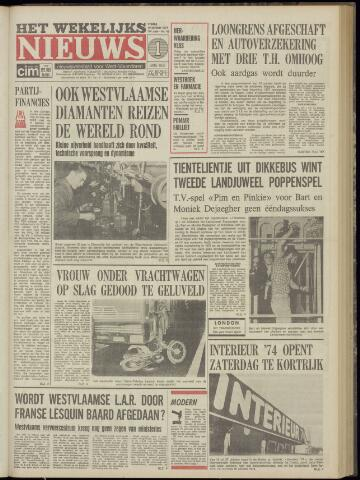 Het Wekelijks Nieuws (1946-1990) 1974-10-18
