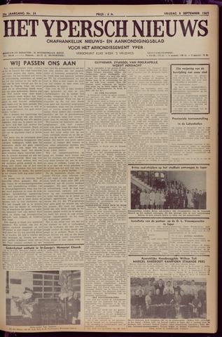Het Ypersch nieuws (1929-1971) 1967-09-08