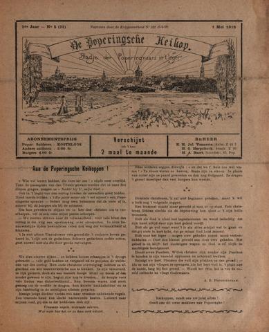 De Poperingsche Keikop (1917-1919) 1918-05-01