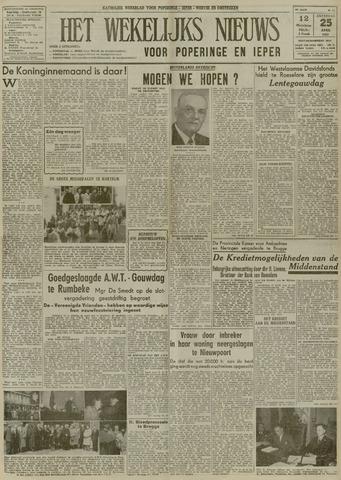 Het Wekelijks Nieuws (1946-1990) 1953-04-25