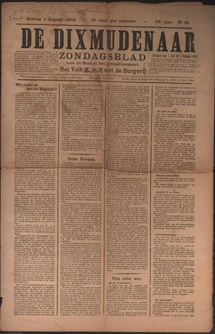 De Dixmudenaar 1909-08-01