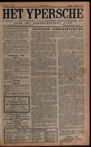 Het Ypersch nieuws (1929-1971) 1943-10-01