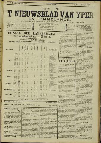 Nieuwsblad van Yperen en van het Arrondissement (1872 - 1912) 1902-05-31