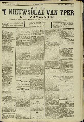 Nieuwsblad van Yperen en van het Arrondissement (1872 - 1912) 1899-05-20