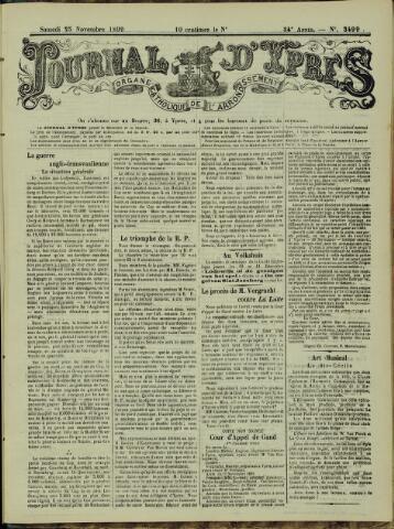 Journal d'Ypres (1874 - 1913) 1899-11-25