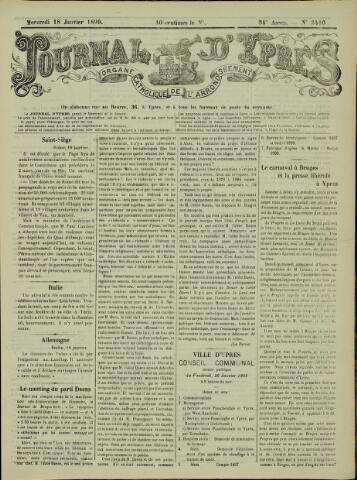 Journal d'Ypres (1874 - 1913) 1899-01-15