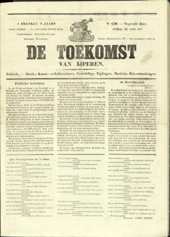 De Toekomst (1862 - 1894) 1870-04-10