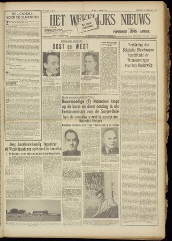 Het Wekelijks Nieuws (1946-1990) 1955-02-12