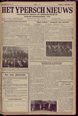 Het Ypersch nieuws (1929-1971) 1967-12-08