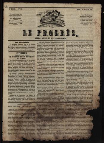 Le Progrès (1841-1914) 1841-07-29