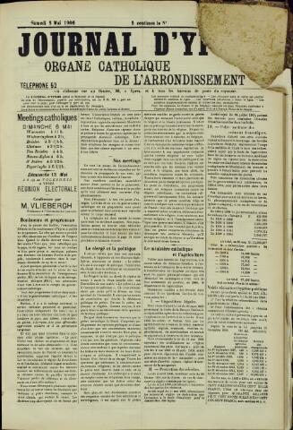 Journal d'Ypres (1874 - 1913) 1906-05-05