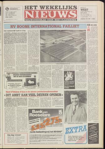 Het Wekelijks Nieuws (1946-1990) 1985-10-25