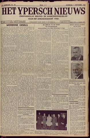 Het Ypersch nieuws (1929-1971) 1964-11-07