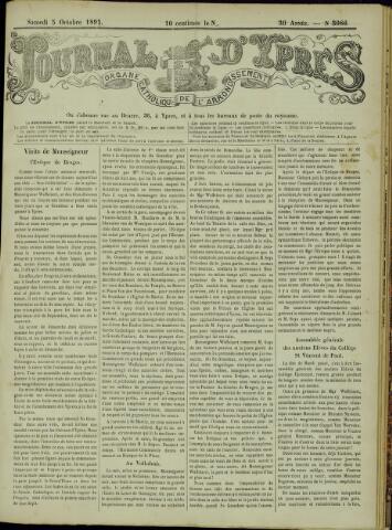 Journal d'Ypres (1874 - 1913) 1895-10-05